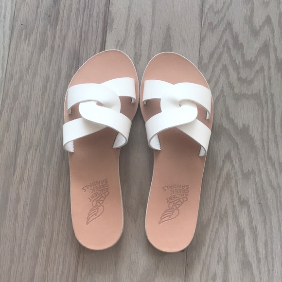 974b15f418245 Ancient Greek Sandals Shoes | Desmos In White Size 39 | Poshmark